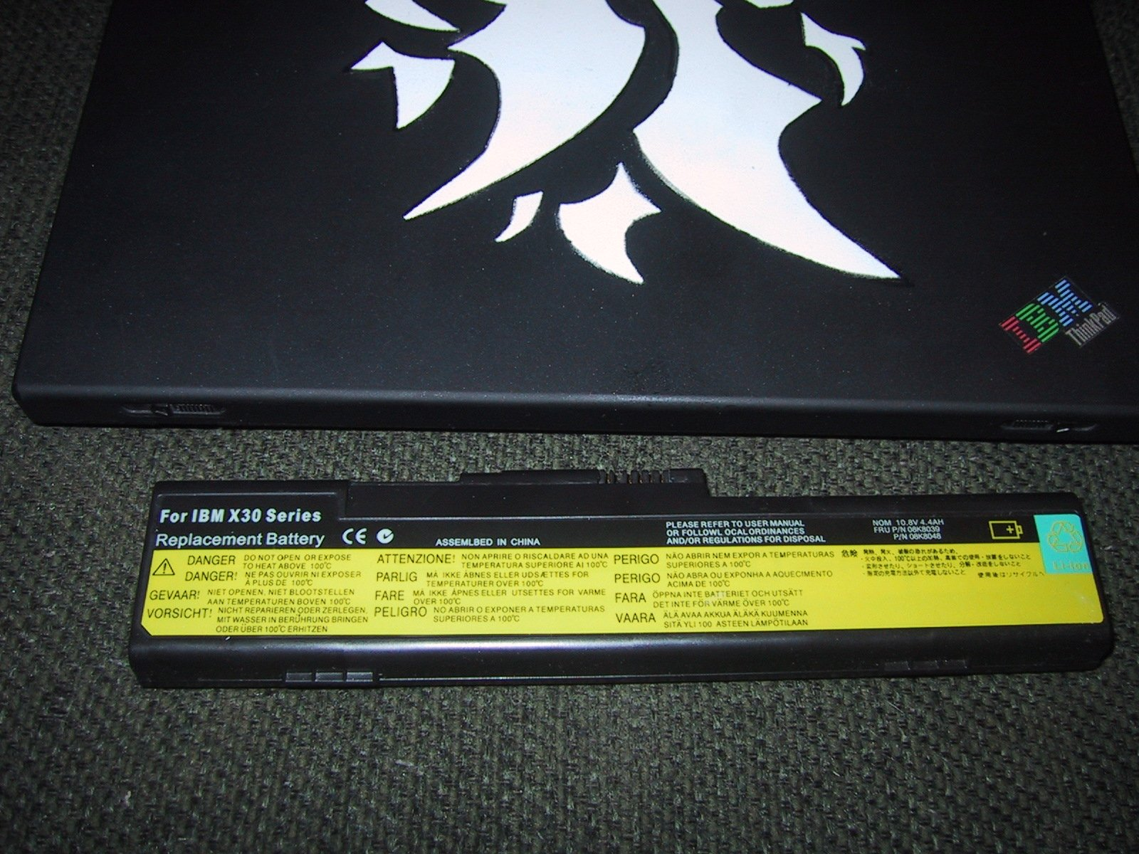 New laptop battery charging instructions not