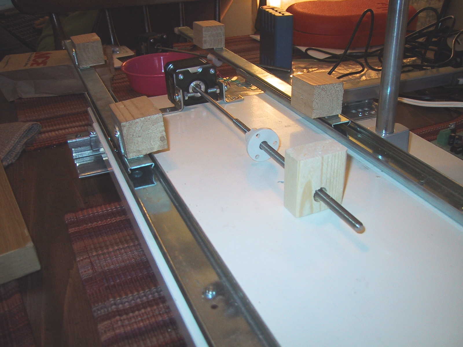 Used Cnc Router >> X/Y Table Motion, or 2.5 axis CNC router | Jay's Technical Talk