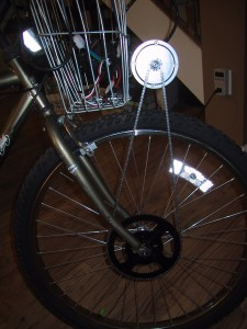 250 watt motor with sprocket and chain