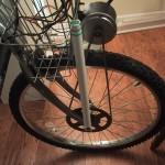 PVC motor support strut