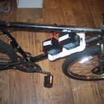 Bike Battery Holder made from PVC
