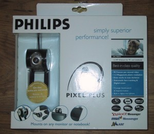 Philips SPC 900NC webcam in box