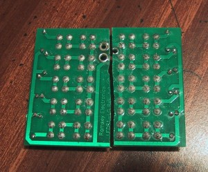 20 led board cut in half to make two 10 led boards