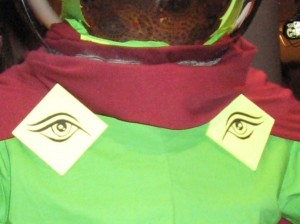 Eyes on a Mysterio costume for DragonCon 2010