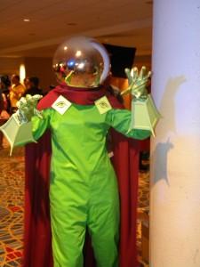 Mysterio indoors photo.