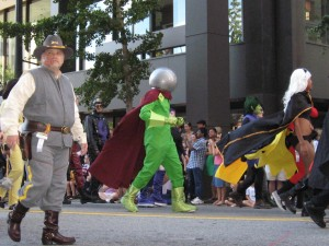 Mysterio in DragonCon2010 parade