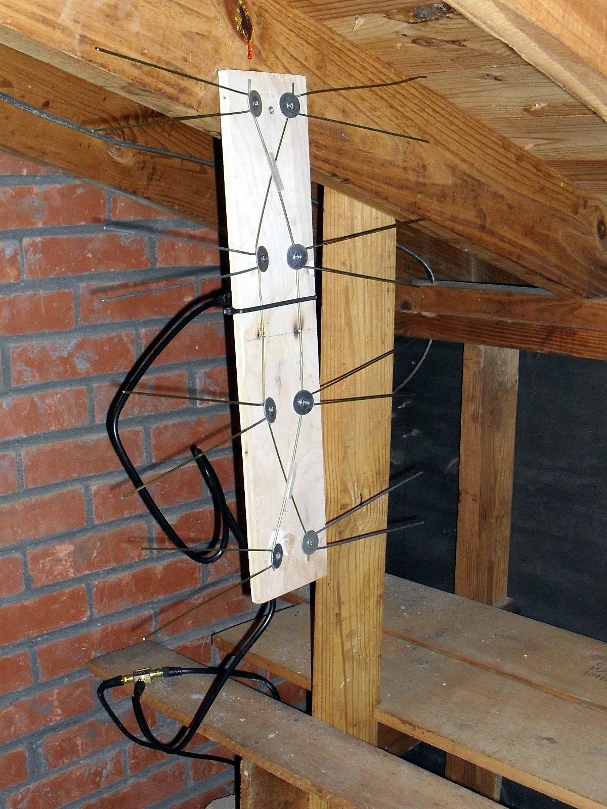 how to use radio shack indoor tv antenna