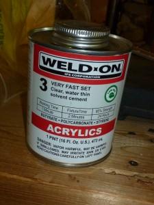 IPS Corporation (Weld-on) acryilic welding solvent cement
