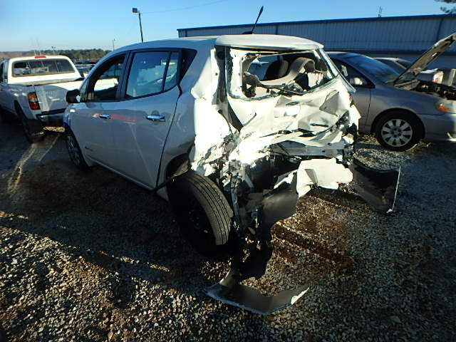 This Is Hoja A New To Me 2017 Nissan Leaf Was Rear Ended Sometime Around December Or January And Totaled By His Insurance Company