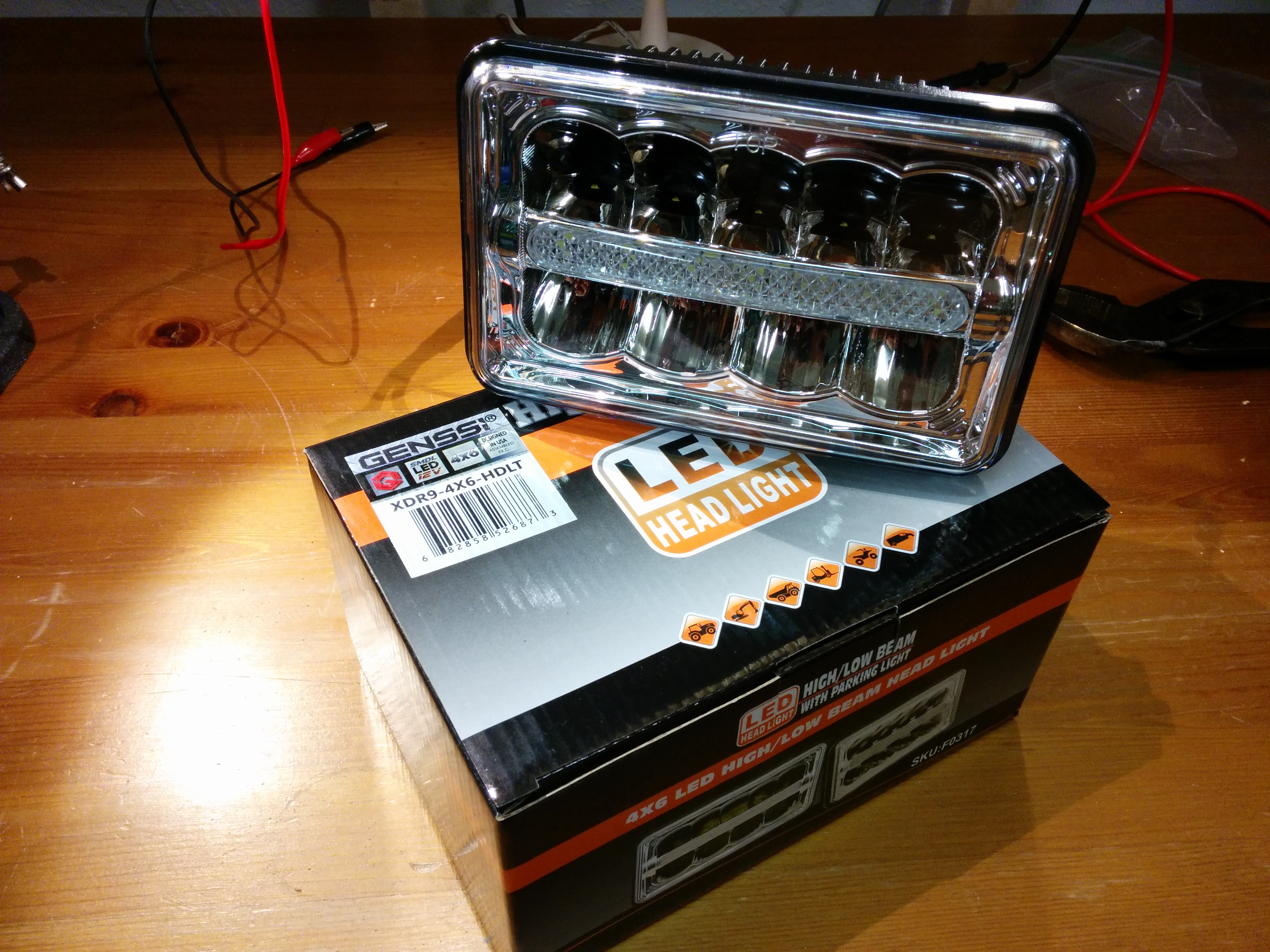 Led Headlight Upgrade 1995 Chevy S 10 Jay S Technical Talk
