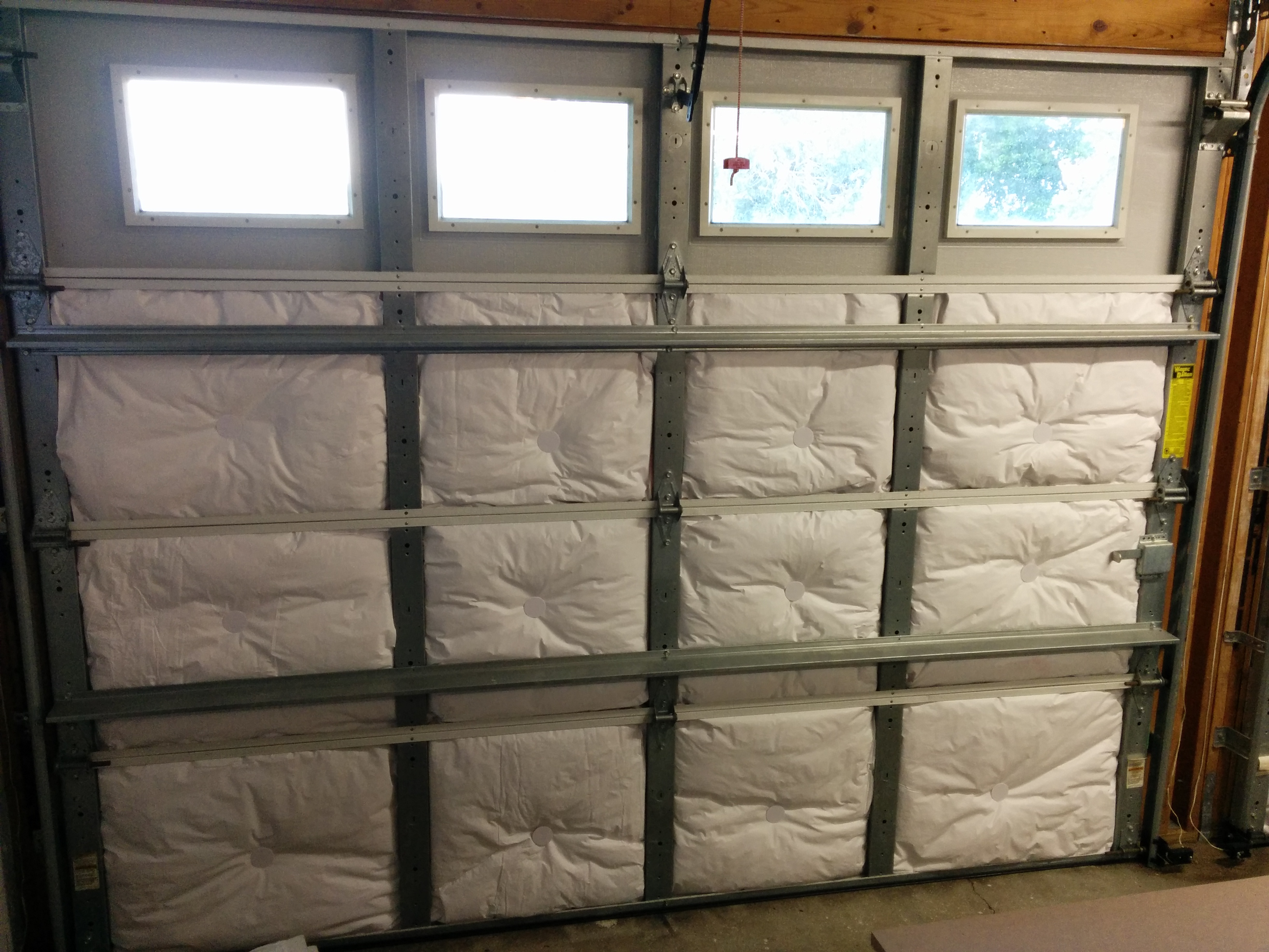archive easy insulation ecofoil insulate blog door how img steps a to garage in